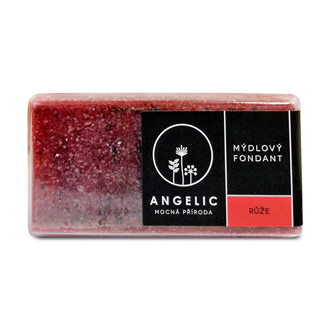 Angelic Angelic Mydlový fondant Ruže 200 g