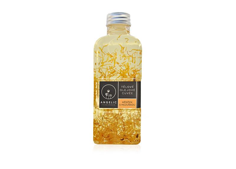 Angelic Angelic Tělové olejové Cuvée Měsíček s meduňkou 200 ml