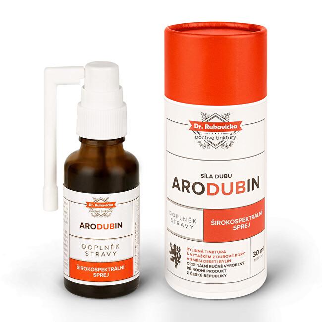 Zobrazit detail výrobku Aromatica ARODUBIN širokospektrální sprej 30 ml s aplikátorem