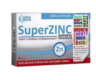 Zobrazit detail výrobku Astina Astina SuperZINC, 30 tablet