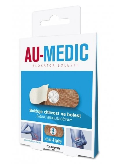 Simply You AU-MEDIC blokátor bolesti 4 ks