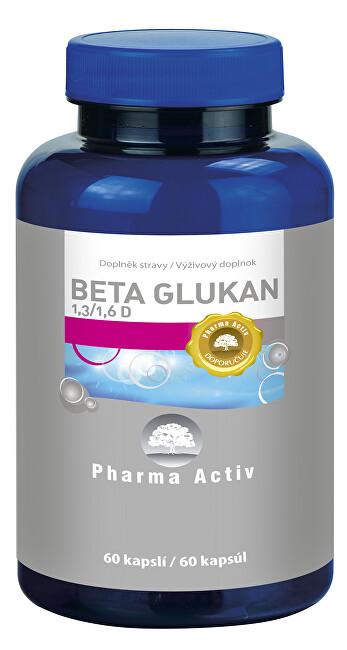 Zobrazit detail výrobku Pharma Activ Beta Glukan 1,3/1,6 D, 60 kapslí