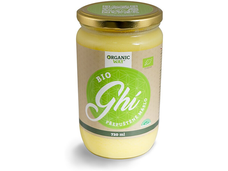 Zobrazit detail výrobku Organic way Bio Ghí 720ml
