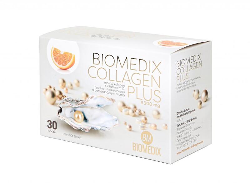 Zobrazit detail výrobku Biomedix Biomedix Kolagen Plus Pomeranč 30 sáčků