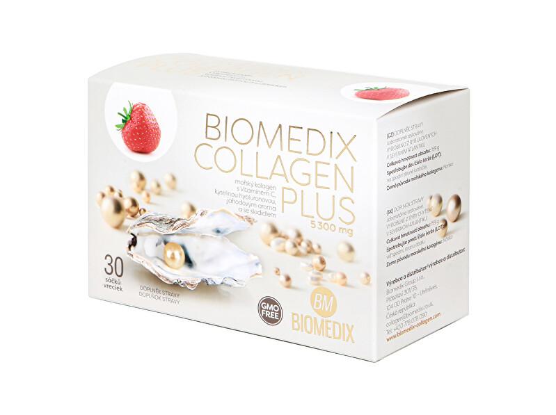Zobrazit detail výrobku Biomedix Biomedix Kolagen Plus Jahoda 30 sáčků