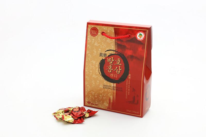 Zobrazit detail výrobku GINLAC Bonbóny s červeným ženšenem 330 g