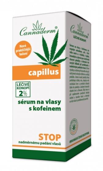 Zobrazit detail výrobku Cannaderm Cannaderm Capillus sérum na vlasy s kofeinem 40 ml
