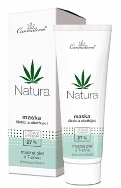 Zobrazit detail výrobku Cannaderm Cannaderm NATURA čisticí a ošetřující maska 75 g