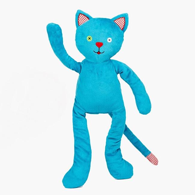 Zobrazit detail výrobku Pecičky Cherry Belly - nahřívací plyšová hračka Modrý kocour