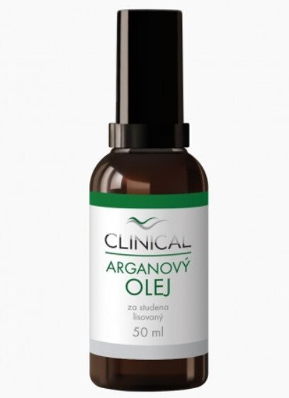 Zobrazit detail výrobku Clinical Clinical Arganový olej lisovaný za studena 50 ml
