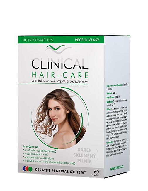 Zobrazit detail výrobku Clinical Clinical Hair-Care tob.60 + skleněný pilník - kúra na 2. měsíce