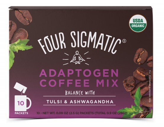 Four Sigmatic Coffee  Tulsi & Ashwagandha adaptogen mix