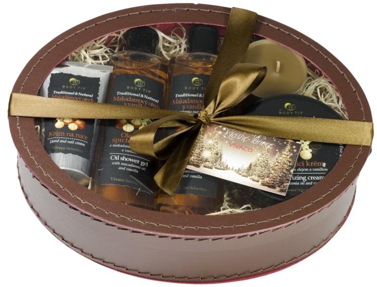 Zobrazit detail výrobku Body tip Dárkové balení Makadamový ořech s vanilkou - pečující