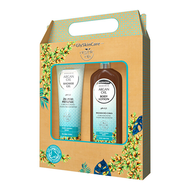 Zobrazit detail výrobku Biotter Pharma Dárková sada pro každodenní péči s arganovým olejem balzám + sprchový gel 2 x 250 ml - SLEVA - poškozená / potrhaná krabička