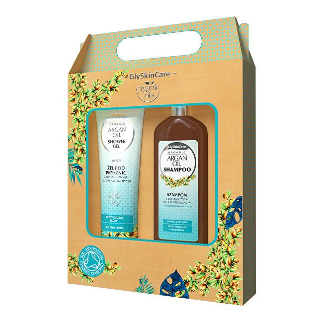 Dárková sada pro každodenní péči s arganovým olejem šampon + sprchový gel 2 x 250 ml