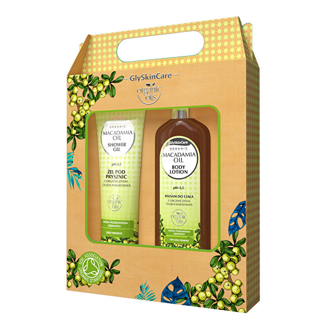 Zobrazit detail výrobku Biotter Pharma Dárková sada pro každodenní péči s makadamovým olejem balzám + sprchový gel 2 x 250 ml