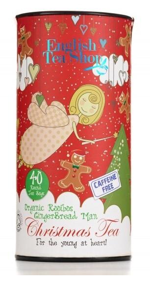 Zobrazit detail výrobku English Tea Shop Dětský čaj, perníček, 40 sáčků, kanystr