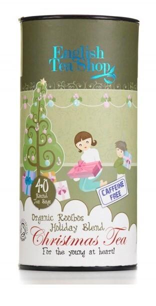 Zobrazit detail výrobku English Tea Shop Dětský čaj, vánoční směs, 40 sáčků, kanystr