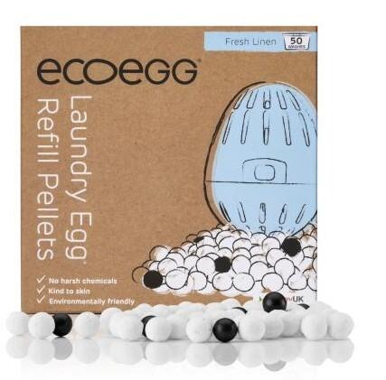 Zobrazit detail výrobku Ecoegg Ecoegg náhradní náplň do pracího vajíčka 50 praní vůně bavlny