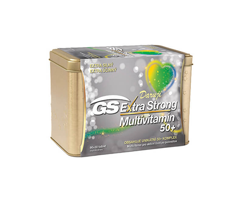 GS Extra Strong Multivitamin 50 9030 tablet dárek 2019