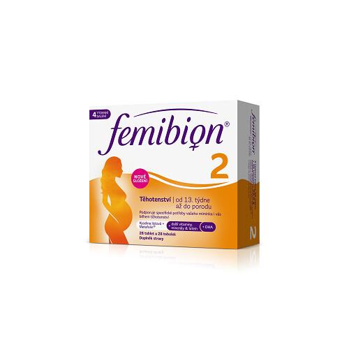 Zobrazit detail výrobku FEMIBION Femibion 2 Těhotenství 28 tablet + 28 tobolek