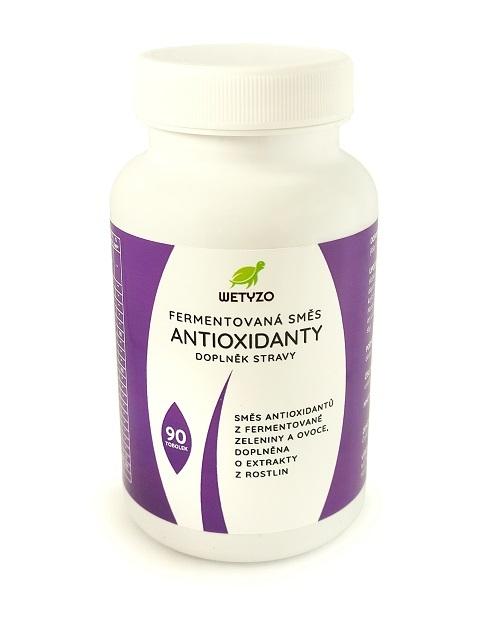 Zobrazit detail výrobku Wetyzo Fermentovaná směs - Antioxidanty 90 tobolek