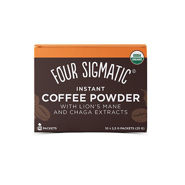 Zobrazit detail výrobku Four Sigmatic Coffee + Lion`s Mane & Chaga mushroom mix