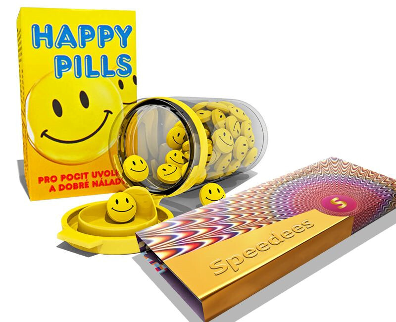 Happy Pills 75 tablet + Speedees 10 ks zdarma