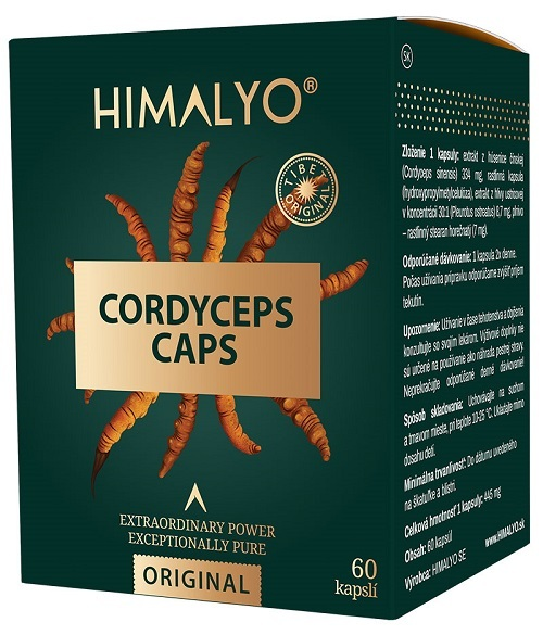Zobrazit detail výrobku Himalyo Himalyo CORDYCEPS kapsle 60 ks