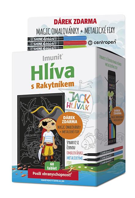 Zobrazit detail výrobku Jack Hlívák Hlíva pro děti 60 tablet