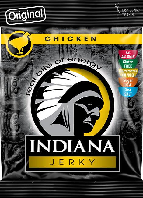 Zobrazit detail výrobku Indiana Indiana Jerky chicken (kuřecí) Original 25 g