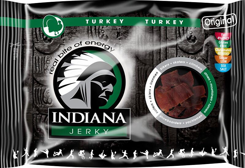 Zobrazit detail výrobku Indiana Indiana Jerky turkey (krůtí) Original 100 g