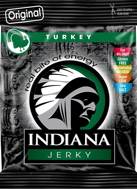 Zobrazit detail výrobku Indiana Indiana Jerky turkey (krůtí) Original 25 g