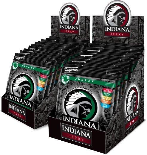 Zobrazit detail výrobku Indiana Indiana Jerky turkey (krůtí) Original 600 g - display