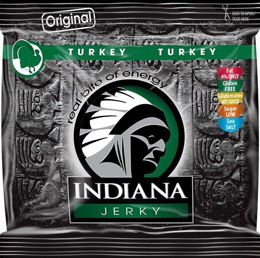 Zobrazit detail výrobku Indiana Indiana Jerky turkey (krůtí) Original 60 g