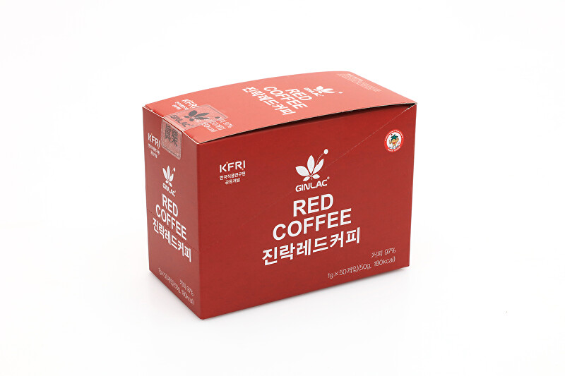 GINLAC Káva RED COFFEE 50 g