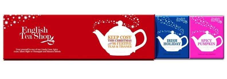 Zobrazit detail výrobku English Tea Shop Kolekce čajů červená, 60 sáčků, 4 příchutě