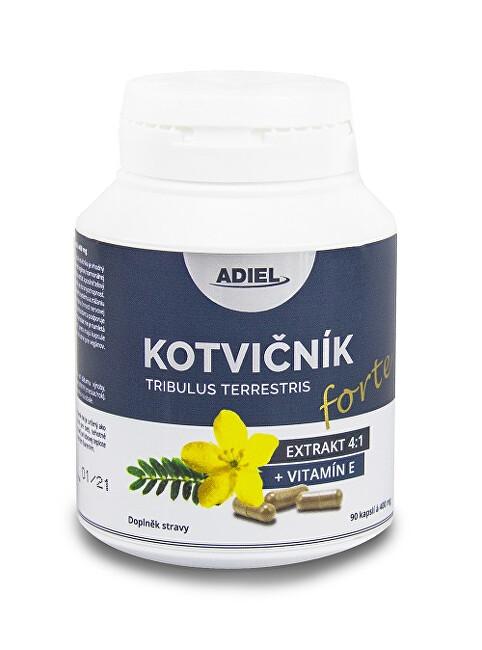 Adiel Kotvičník zemní FORTE s vitamínem E 90 pilulek