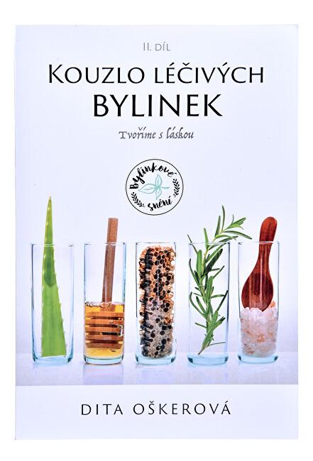 Zobrazit detail výrobku Knihy Kouzlo léčivých bylinek II. - Tvoříme s láskou (Dita Oškerová)