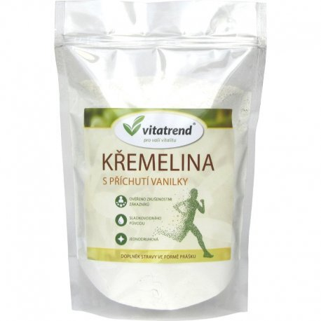 Zobrazit detail výrobku Vitatrend Křemelina Vitatrend 500 g s příchutí vanilky