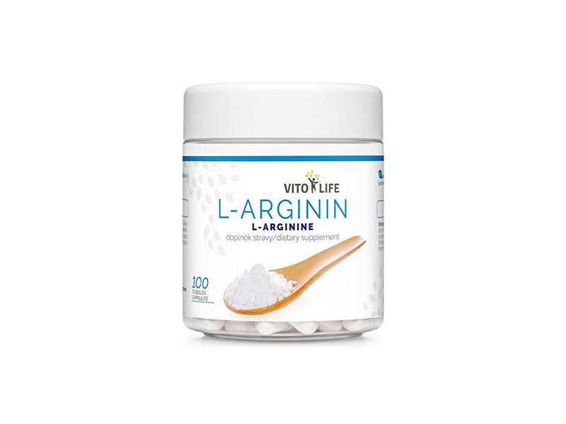 Zobrazit detail výrobku Vito life L-Arginin, 100 tobolek