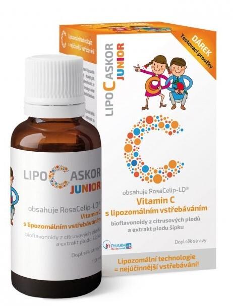 Zobrazit detail výrobku InPharm LIPO-C ASKOR JUNIOR 110 ml