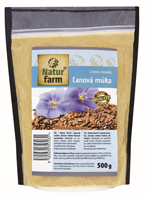 Zobrazit detail výrobku Natur farm Lněná mouka 500 g