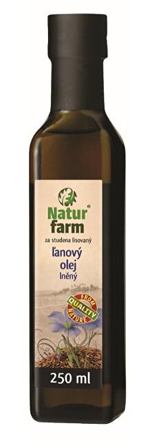Lněný olej 0,25 l