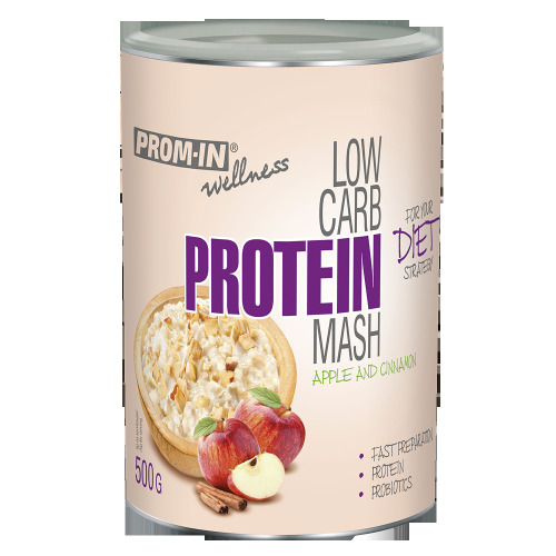 Zobrazit detail výrobku Prom-in Low carb protein mash 500 g Jablko/skořice
