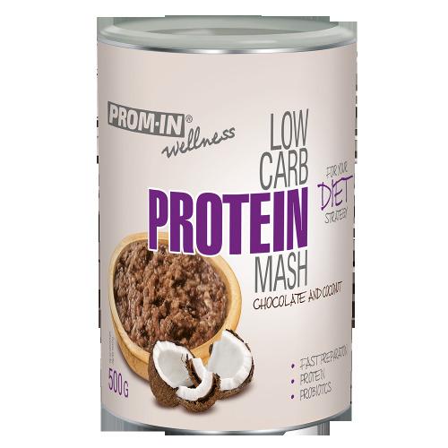Zobrazit detail výrobku Prom-in Low carb protein mash 500 g Čokoláda/kokos