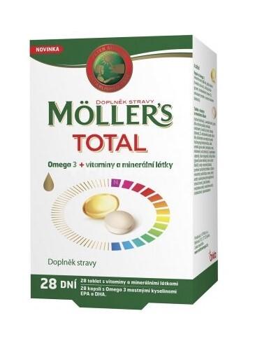 Zobrazit detail výrobku Möller´s Möllers TOTAL 28 dní 56 tablet