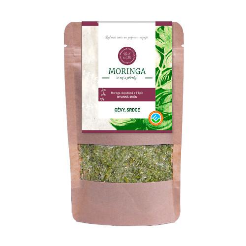 Zobrazit detail výrobku Herb & Me Moringa z Filipín - CÉVY, SRDCE 30 g