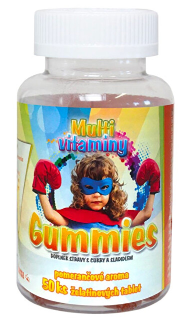 MedPharma Multivitaminy Gummies 50 ks