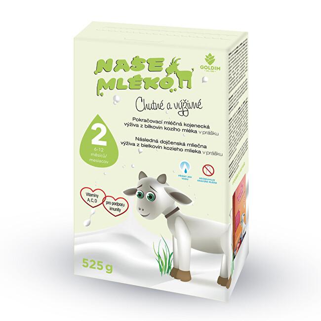 Zobrazit detail výrobku Goldim Naše mléko 2 pokr. výživa z kozího mléka 6-12 m 525 g